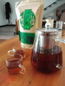 八月瓜果茶,农家土蜂蜜自产自销